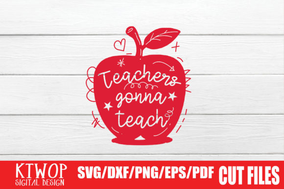 Print on Demand: Teachers Gonna Teach Graphic Crafts By KtwoP
