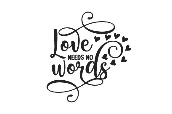 Love Needs No Words Awareness Craft Cut File By Creative Fabrica Crafts - Image 1