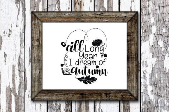 Print on Demand: Autumn Fall Quote Graphic Crafts By KtwoP