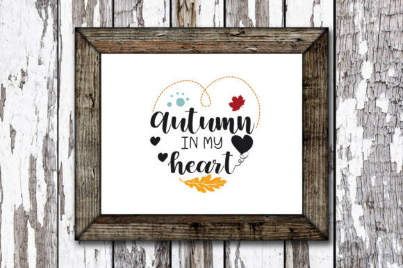 Print on Demand: Autumn in My Heart Graphic Crafts By KtwoP