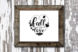 Print on Demand: Fall in Love Graphic Crafts By KtwoP