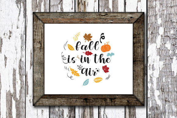 Print on Demand: Fall is in the Air Graphic Crafts By KtwoP
