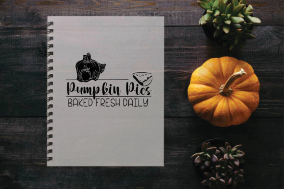 25+ Fresh Baked Pumpkin Pie, Svg, Dxf, Cricut, Silhouette, Cut File Design