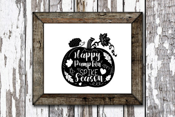Print on Demand: Happy Pumpkin Spice Season Graphic Crafts By KtwoP