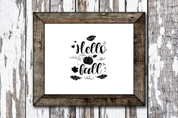 Print on Demand: Hello Fall Graphic Crafts By KtwoP