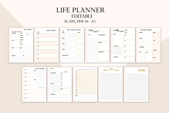 Life Planner, Family Planner Graphic Item