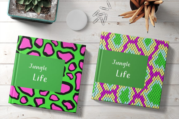 Neon Animal Print Graphic Patterns By digitalEye - Image 2