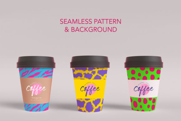Neon Animal Print Graphic Patterns By digitalEye - Image 3