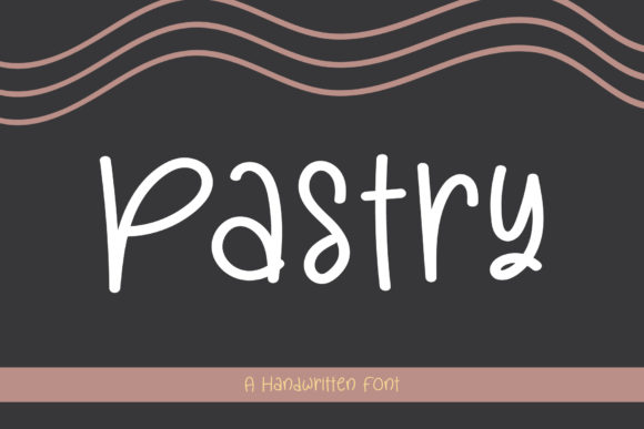 Print on Demand: Pastry Script & Handwritten Font By Wanida Toffy
