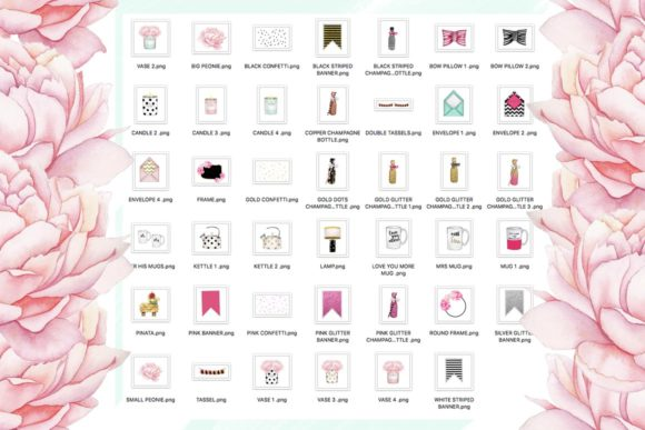 Print on Demand: Planner Girl Clipart Set Graphic Illustrations By TheGGShop - Image 7