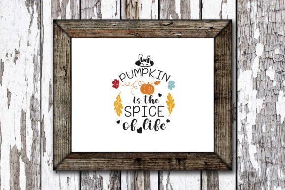 Print on Demand: Pumpkin is the Spice of Life Graphic Crafts By KtwoP