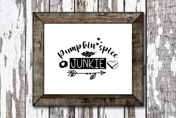 Print on Demand: Pumpkin Spice Junkie Graphic Crafts By KtwoP