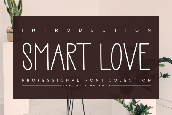 Print on Demand: Smart Love Sans Serif Font By andikastudio
