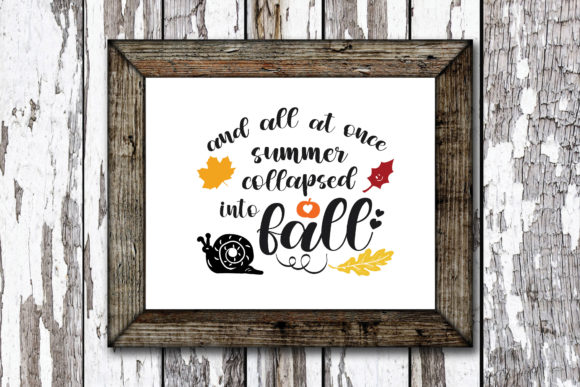 Print on Demand: Summer Collapsed into Fall Graphic Crafts By KtwoP