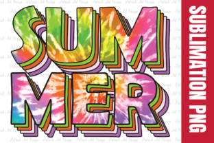 Summer Tie Dye Sublimation Design Graphic Crafts By Patrick Design