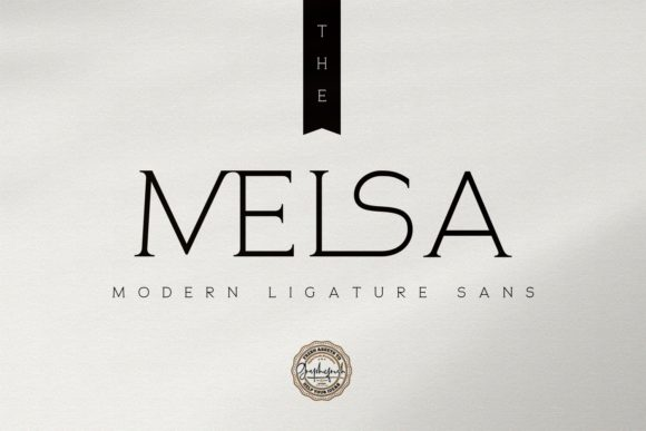 Print on Demand: The Melsa Serif Font By Graphicfresh