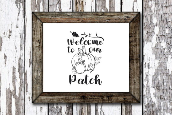 Print on Demand: Welcome to Our Patch Graphic Crafts By KtwoP