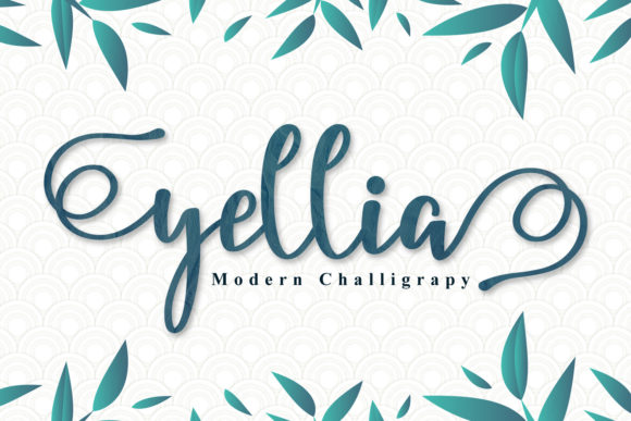 Print on Demand: Yellia Script & Handwritten Font By niyos.studio
