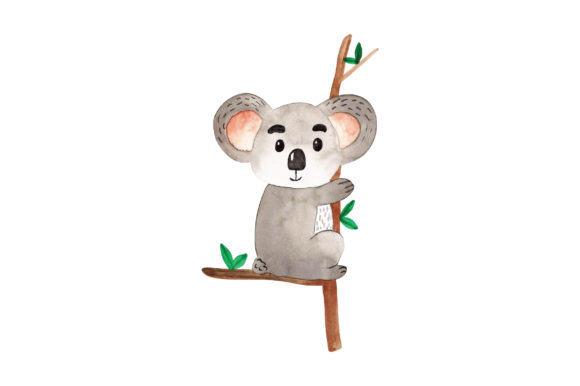Baby Koala Australia Craft Cut File By Creative Fabrica Crafts