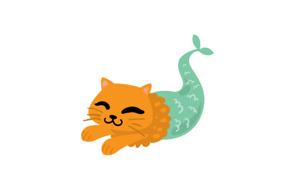 Cat Mermaid Cats Craft Cut File By Creative Fabrica Crafts - Image 1