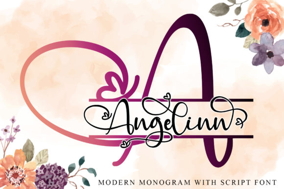 Print on Demand: Angelinn Script & Handwritten Font By thomasaradea