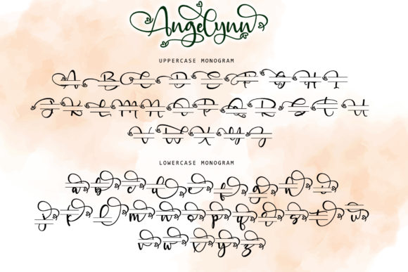 Print on Demand: Angelinn Script & Handwritten Font By thomasaradea - Image 10