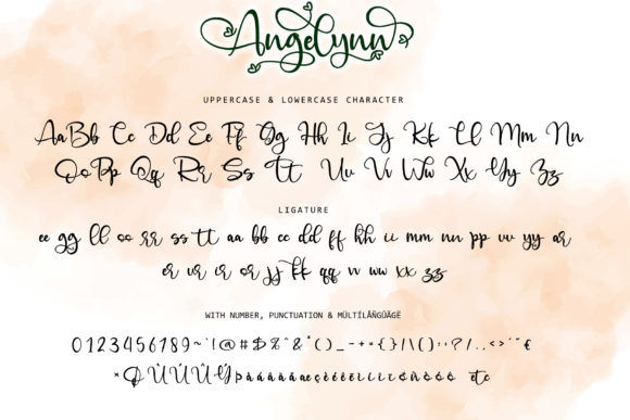 Print on Demand: Angelinn Script & Handwritten Font By thomasaradea - Image 11