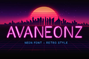 Print on Demand: Avaneonz Display Font By almarkhatype