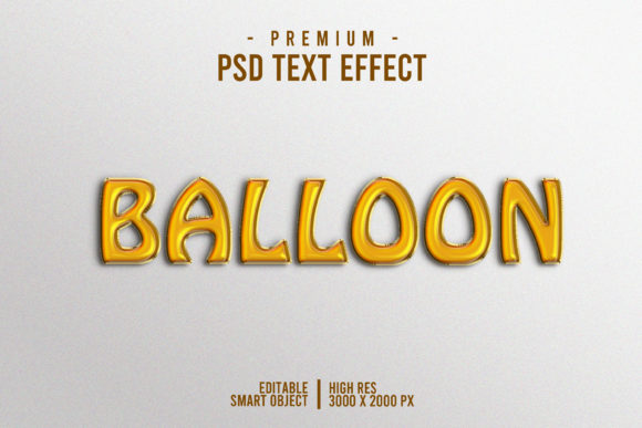 Balloon Text Style Effect Graphic Layer Styles By Evloxx