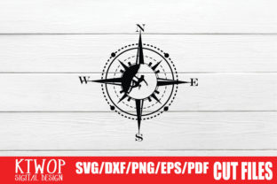 Print on Demand: Cardinal Directions Graphic Crafts By KtwoP