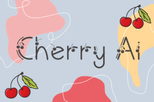 Print on Demand: Cherry Ai Decorative Font By nuraisyahamalia1729
