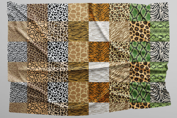 Collection of Animal Print Seamless 2 Graphic Image