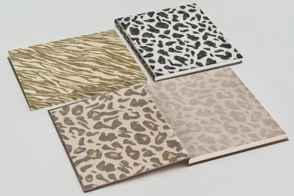 Collection of Animal Print Seamless 2 Graphic Design Item