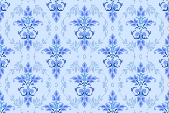 Colorful Flowers Seamless Pattern Design Graphic Patterns By ranger262