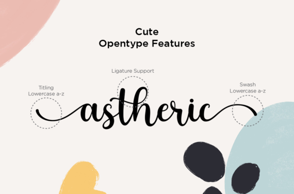 Cute Font Preview