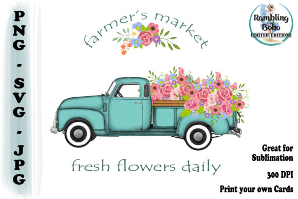 Print on Demand: Farmer's Market Graphic Illustrations By RamblingBoho