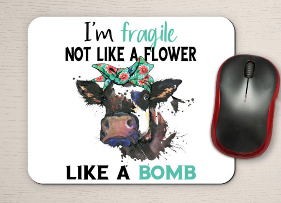 Fragile Like a Bomb Quote Graphic Download