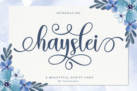 Print on Demand: Hayslei Script & Handwritten Font By ToniStudio