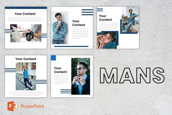 Instagram Feed - Mans Graphic Presentation Templates By listulabs