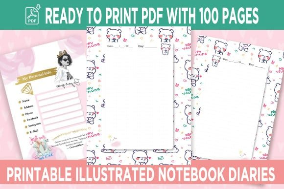 Print on Demand: KDP Interior Bears Dotted Pages Vol.5 Graphic KDP Interiors By Queen Dreams Store
