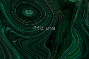 Print on Demand: Malachite Textures with Gold Strata Graphic Textures By Digital Curio 4
