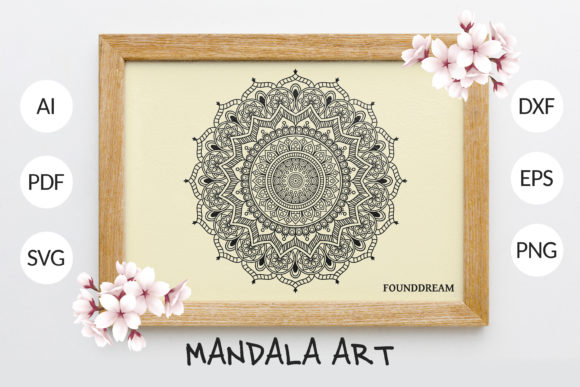 Print on Demand: Mandala Graphic Crafts By FounDream