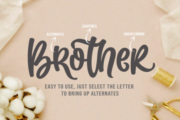 Print on Demand: Martina Script & Handwritten Font By Subectype - Image 3