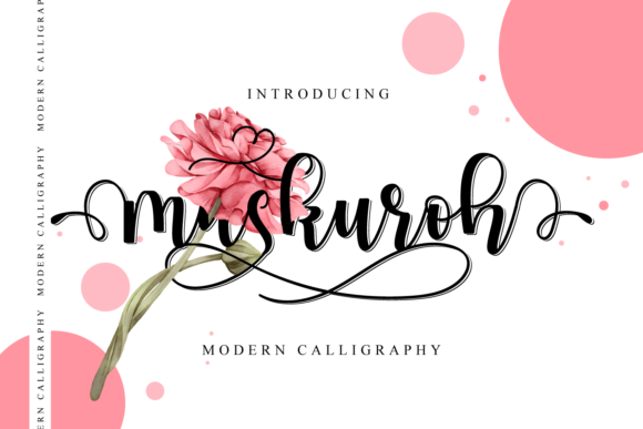 Print on Demand: Maskuroh Script & Handwritten Font By fiqiart09