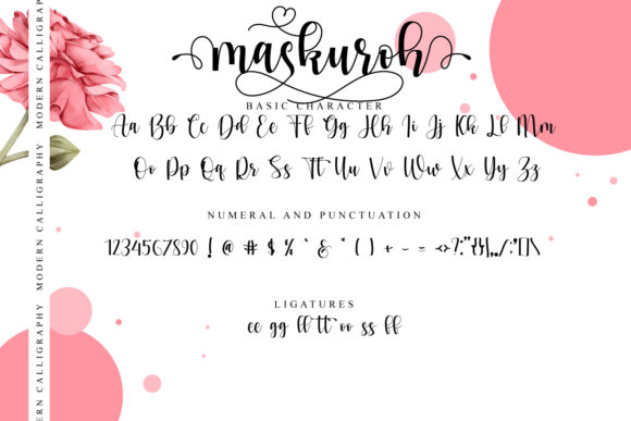 Maskuroh Font Downloadable Digital File