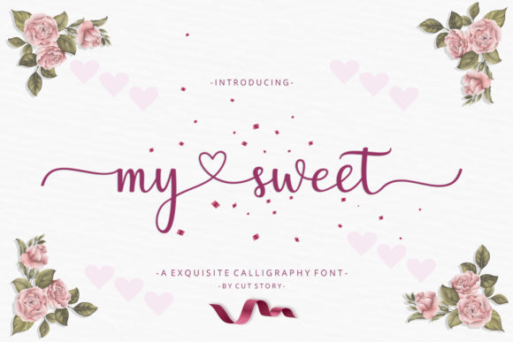 Print on Demand: My Sweet Script & Handwritten Font By Cut Story