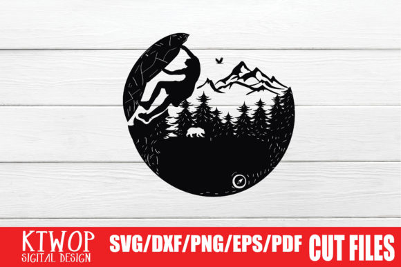 Print on Demand: Rock Climbing Graphic Crafts By KtwoP