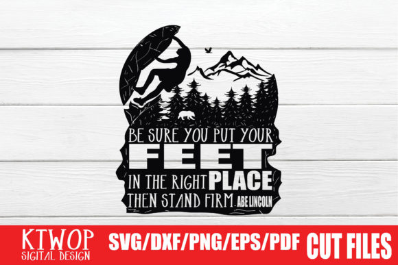 Print on Demand: Rock Climbing Quote Graphic Crafts By KtwoP