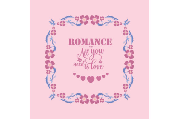 Romance Greeting Card Wallpaper Design Graphic Backgrounds By stockfloral