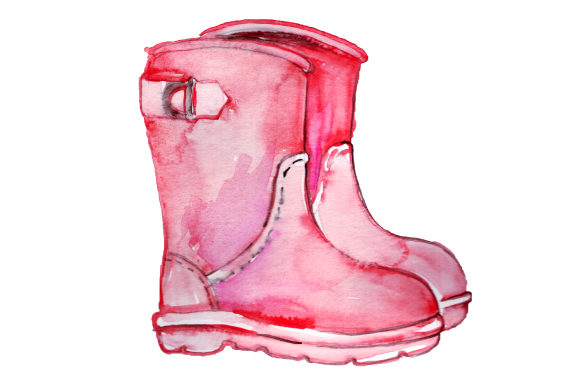 Wellie Boots Primavera Archivo de Corte Craft Por Creative Fabrica Crafts